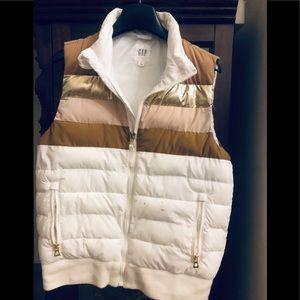 GAP- feather vest